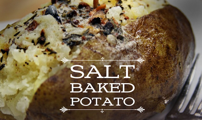 Recipe: Salt Baked Potato | The Sauce by All Things BBQ