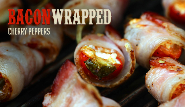 Bacon Wrapped Cherry Peppers Recipe