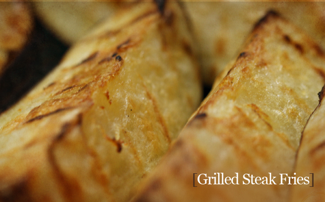 Grilled Steak Fries Recipe