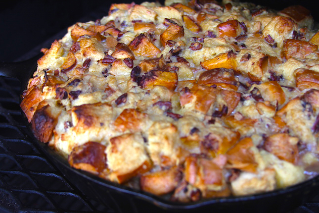 Recipes: Peach and Bourbon Butterscotch Bread Pudding | All Things ...