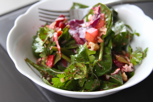 Recipes: Asian Grilled Apple & Smoked Beet Salad | All Things Barbecue ...