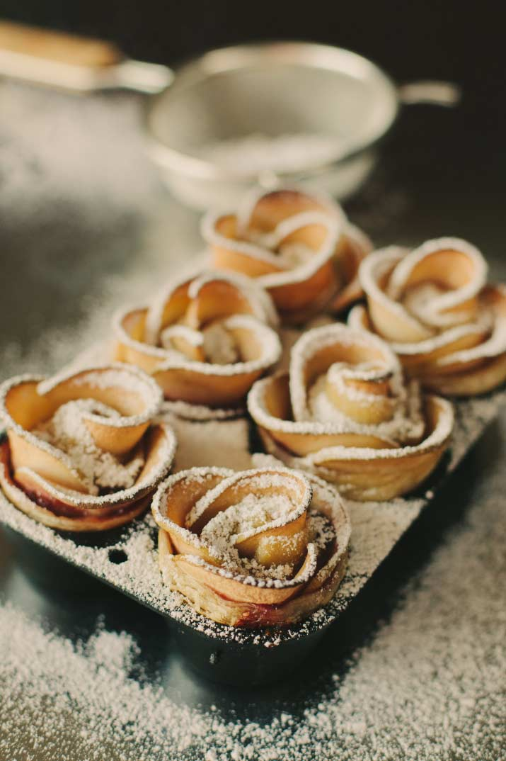Recipes Apple Rose Puff Pastries The Sauce By All