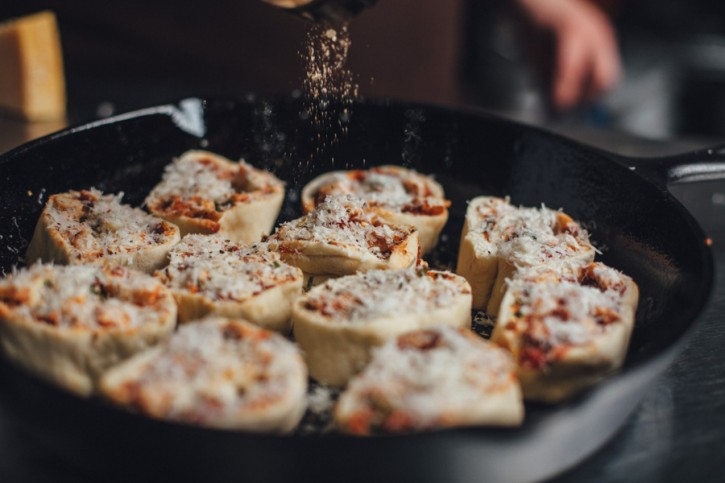 Recipes: Chicken Parmesan Pinwheels | All Things Barbecue - The Sauce