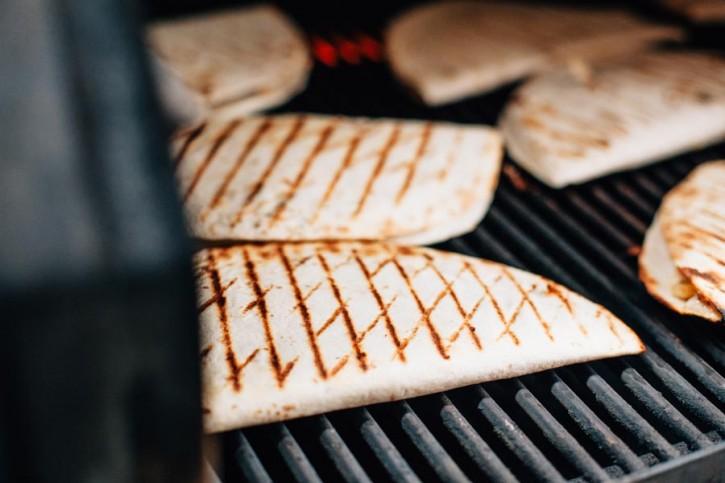 Spatchcock Chicken Quesadillas