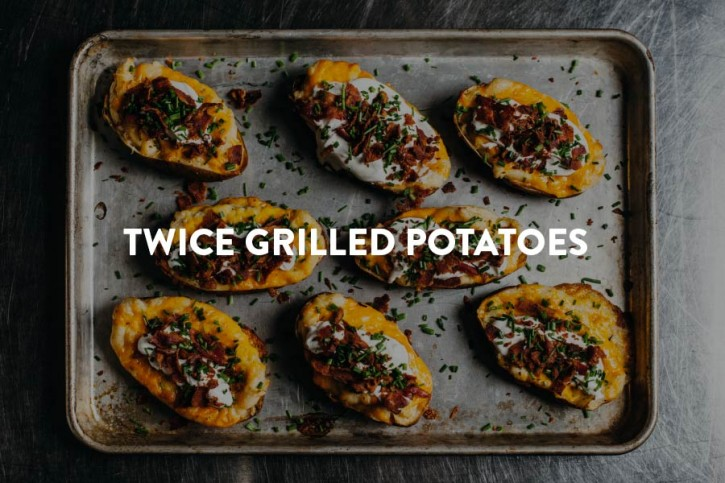 Twice Grilled Potatoes