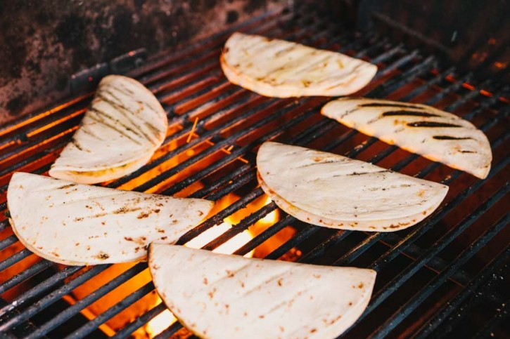 Grilled Breakfast Tacos