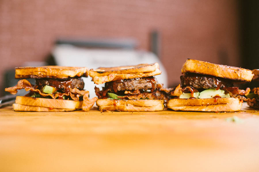 Grilled Cheese Cheeseburger Recipe