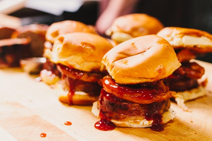 Smoked Meatloaf Sliders