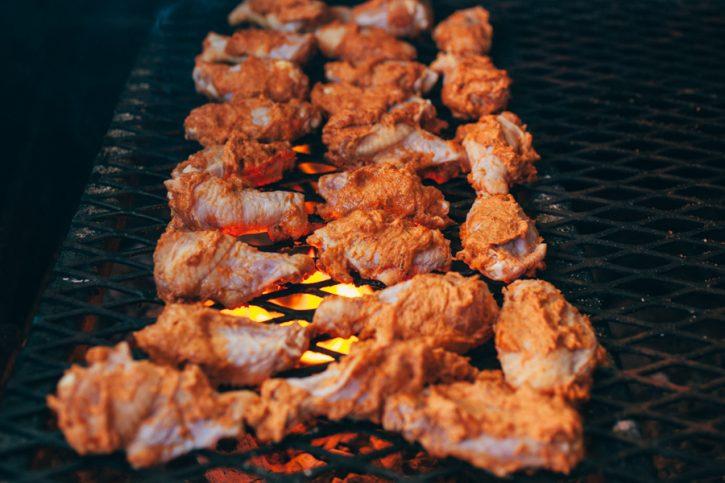 Bourbon Bacon Chicken Wings