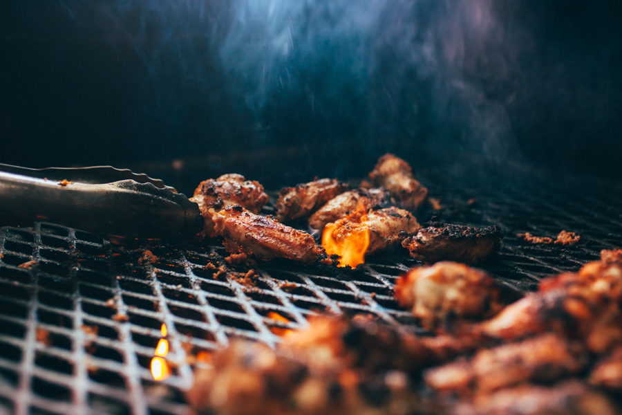 Bourbon Bacon Chicken Wings Recipe