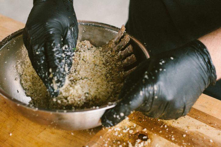 Parmesan Crusted Rack of Lamb
