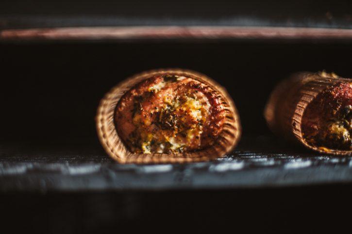 Pesto Stuffed Pork Loin