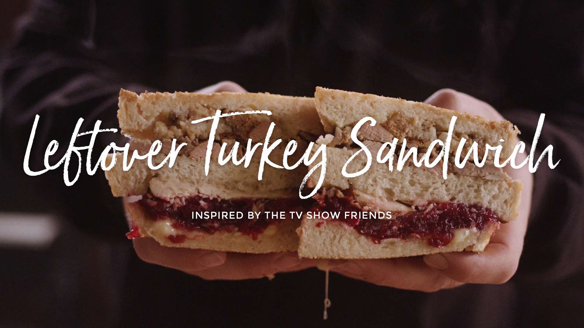 Leftover Turkey Sandwich Recipe