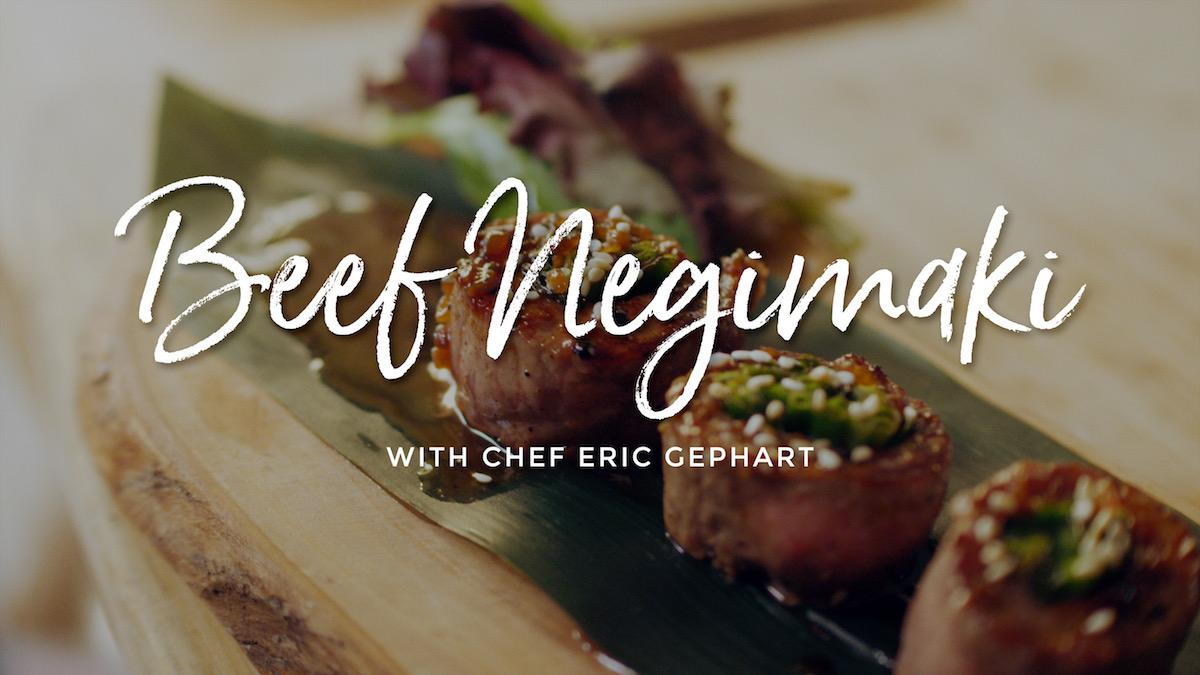 Beef Negimaki Recipe