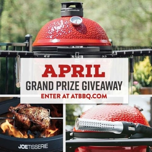 April Grand Prize Giveaway, ATBBQ.com