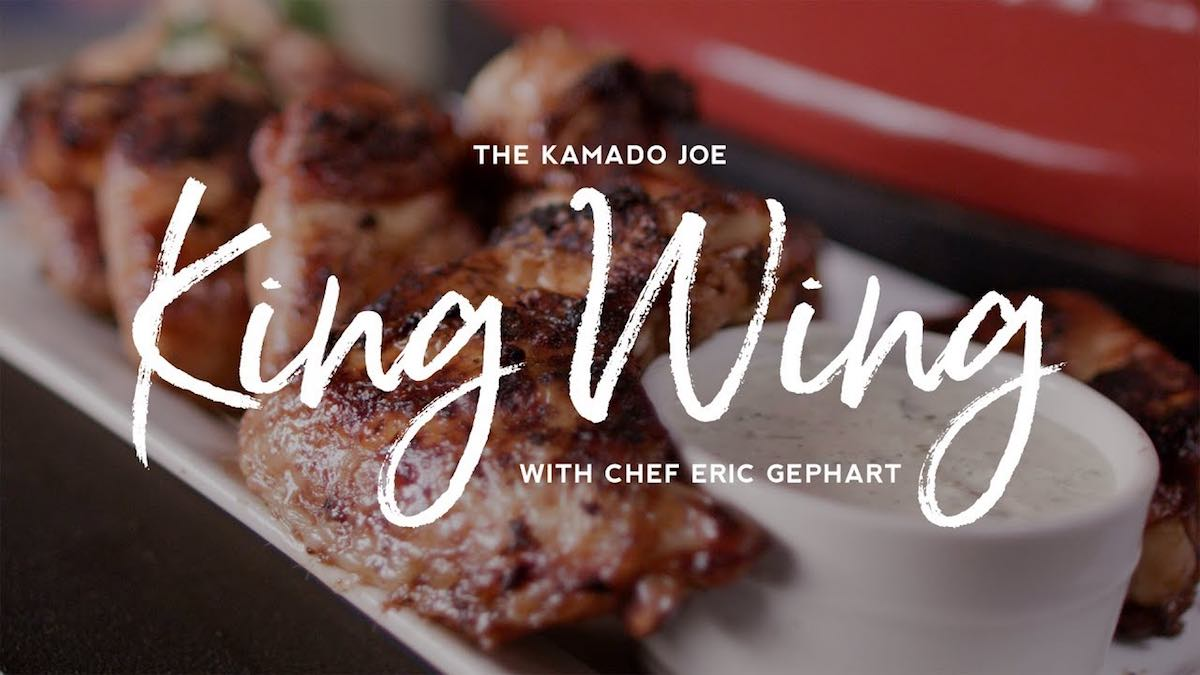 The Kamado Joe King Wing with Chef Eric Gephart