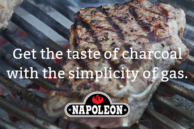 techniques cooking with charcoal on your napoleon gas grill the
