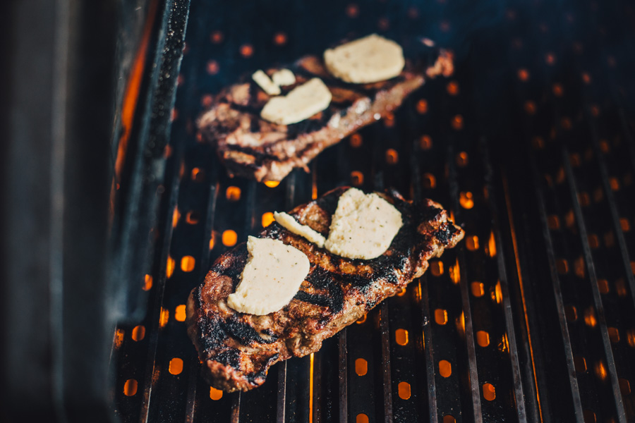 Grilled Steak Dinner for Two