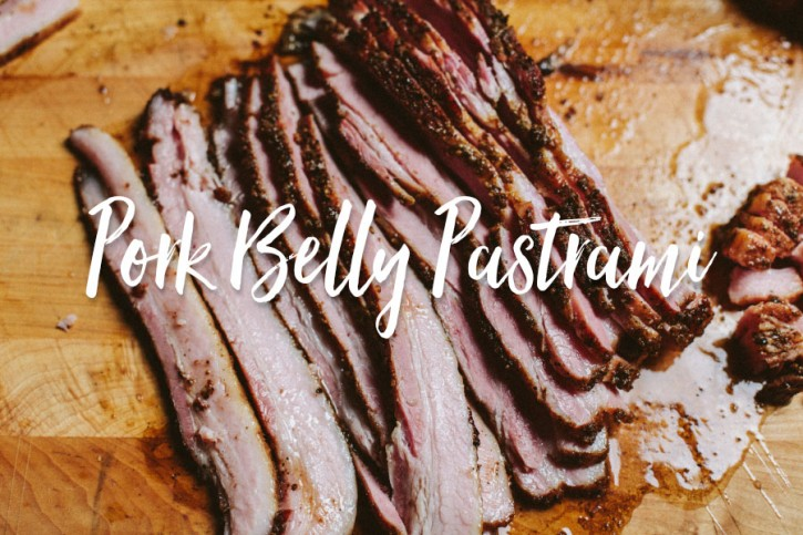 Pork Belly Pastrami Recipe