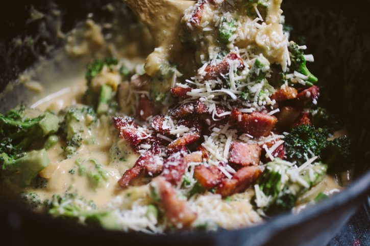 smoky cheese broccoli recipe