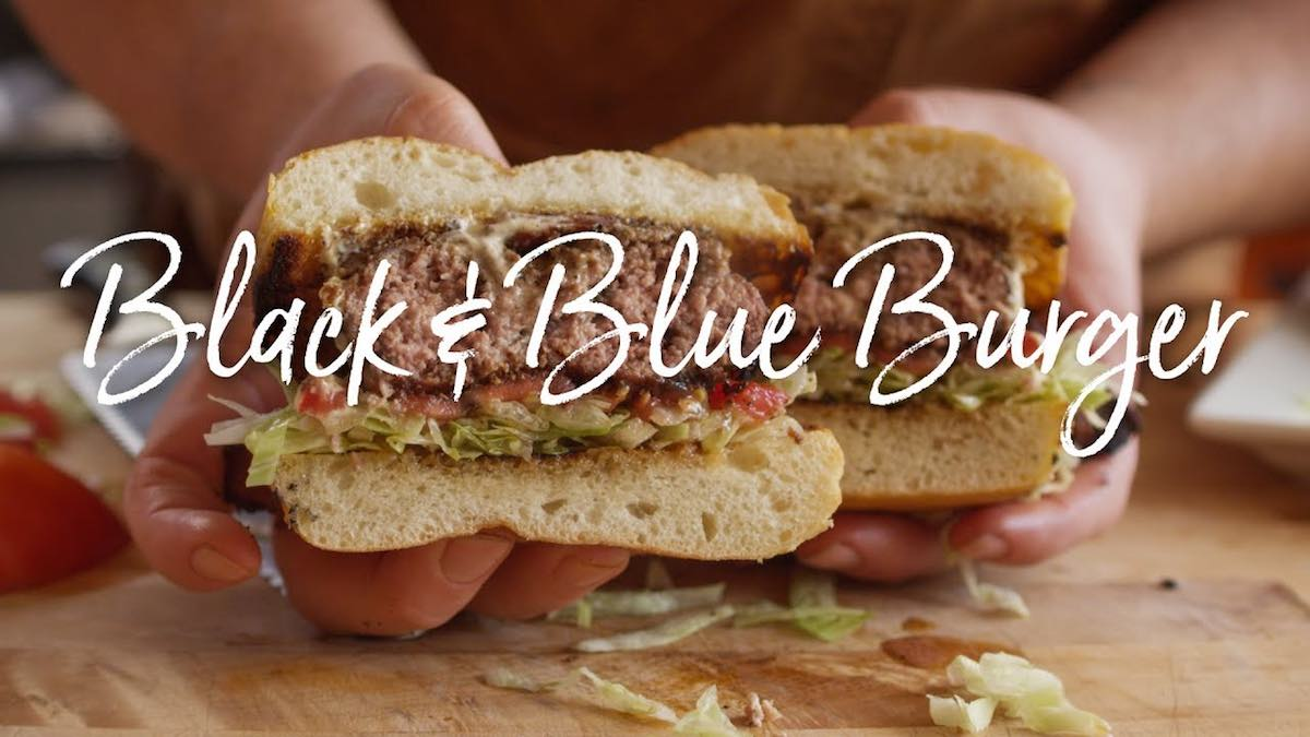 Bacon Black and Blue Burger Recipe