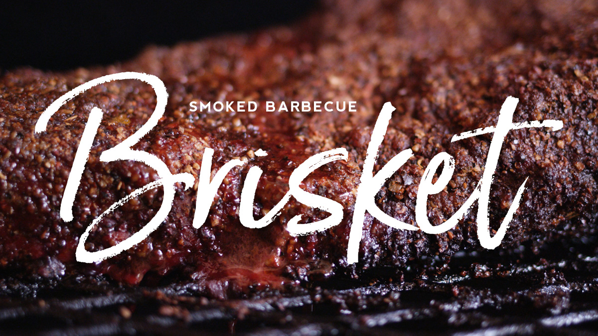 Smoked Barbecue Brisket Recipe