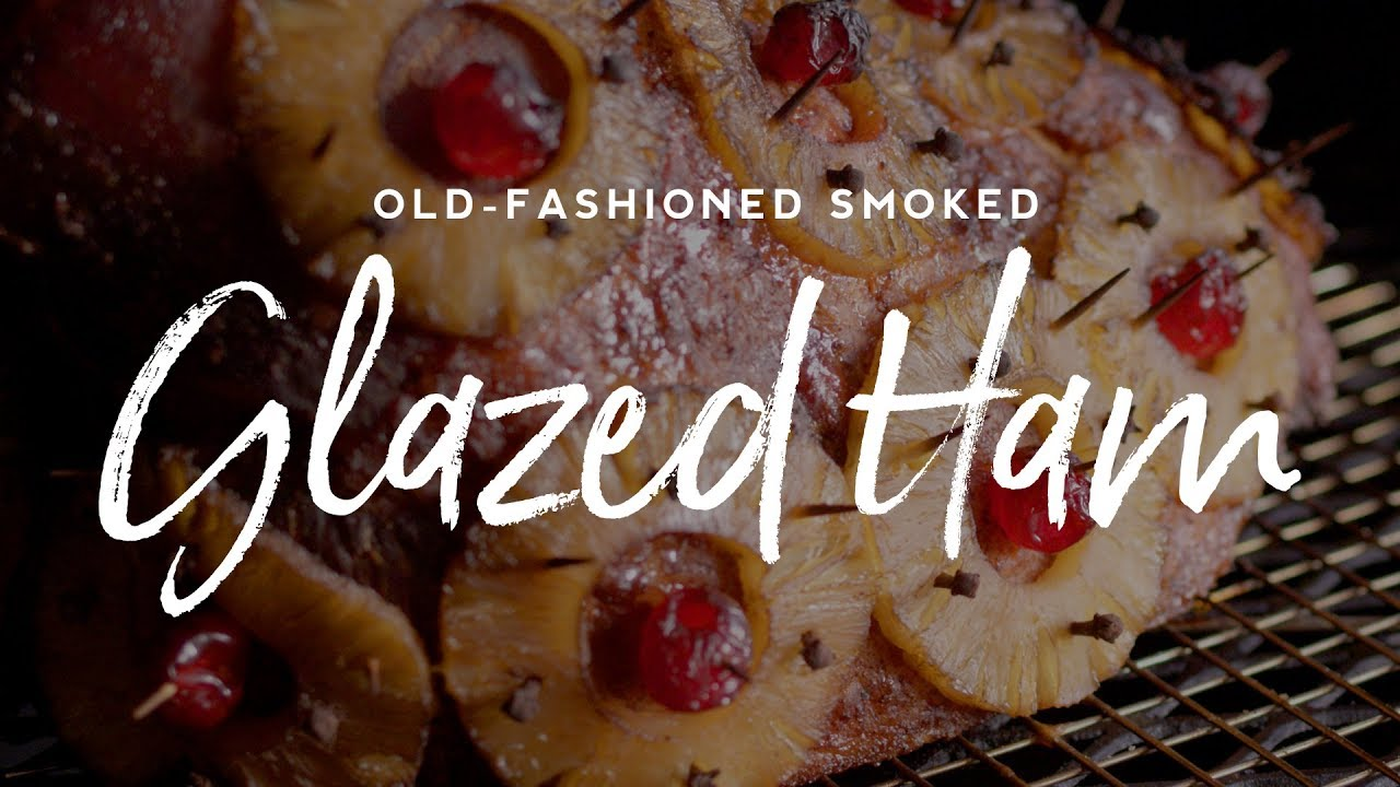 Old Fashioned Glazed Ham Recipe