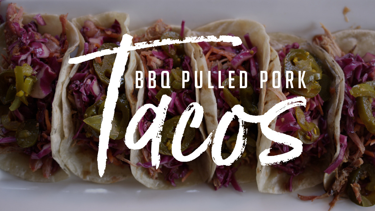 BBQ Pulled Pork Tacos Recipe