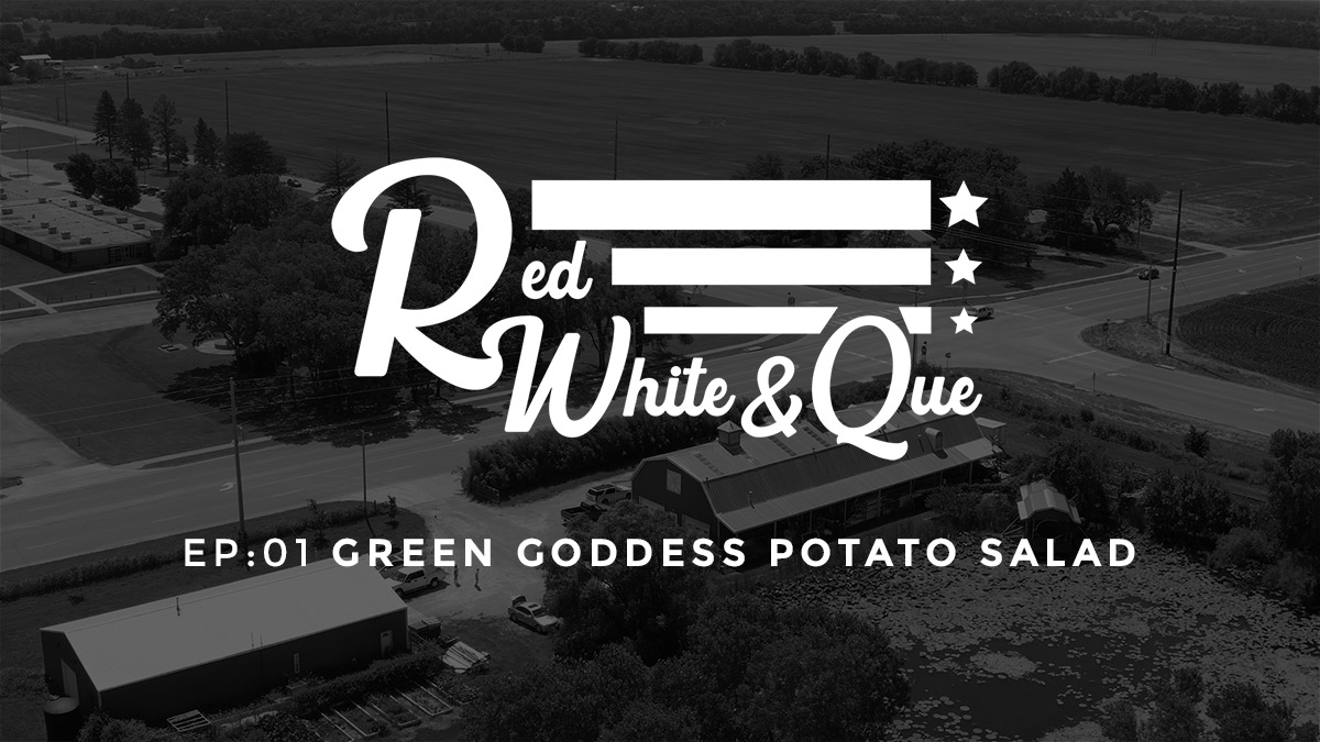 Red White and Que Episode One: Green Goddess Potato Salad Recipe