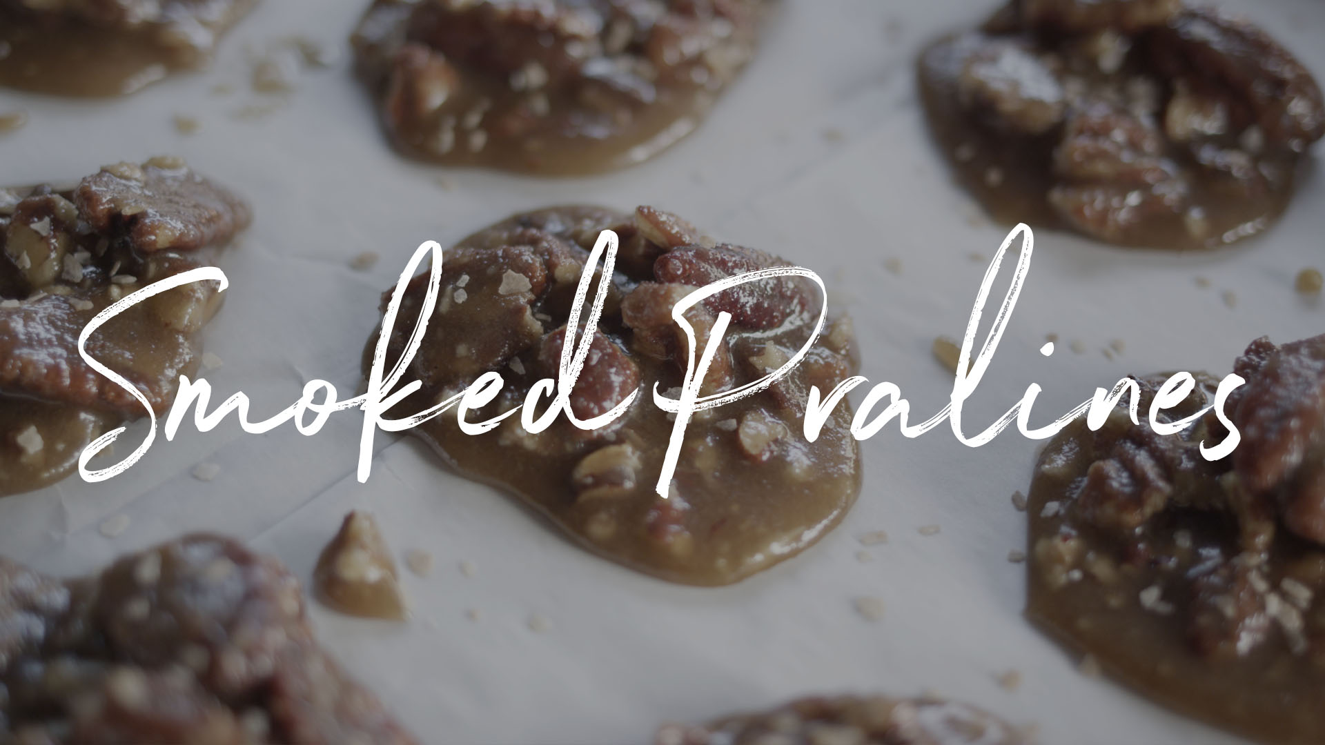 Smoked Pralines Recipe