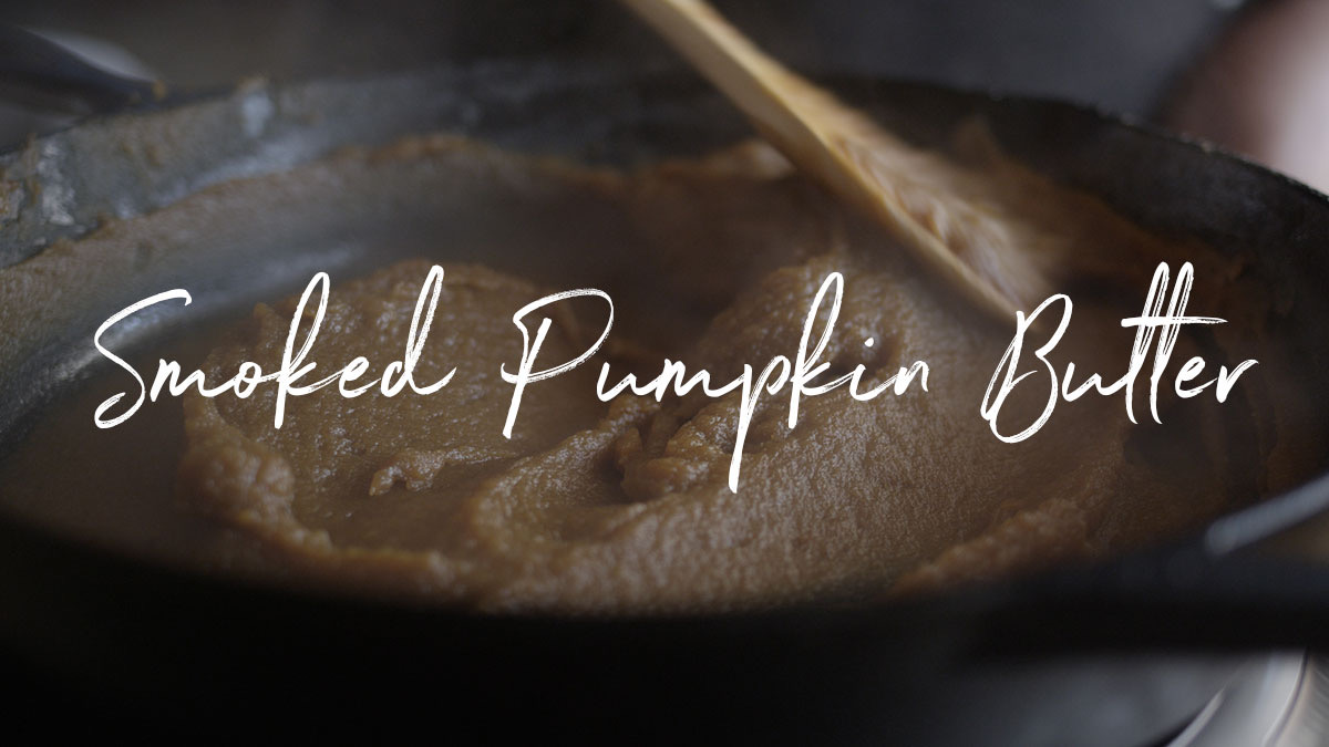 Smoked Pumpkin Butter Recipe