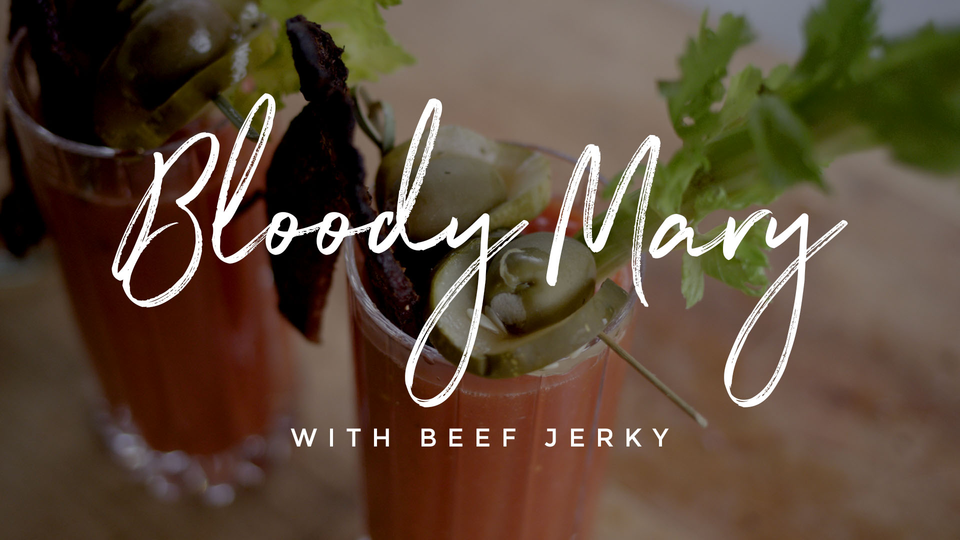 Bloody Mary wtih Beef Jerky Recipe