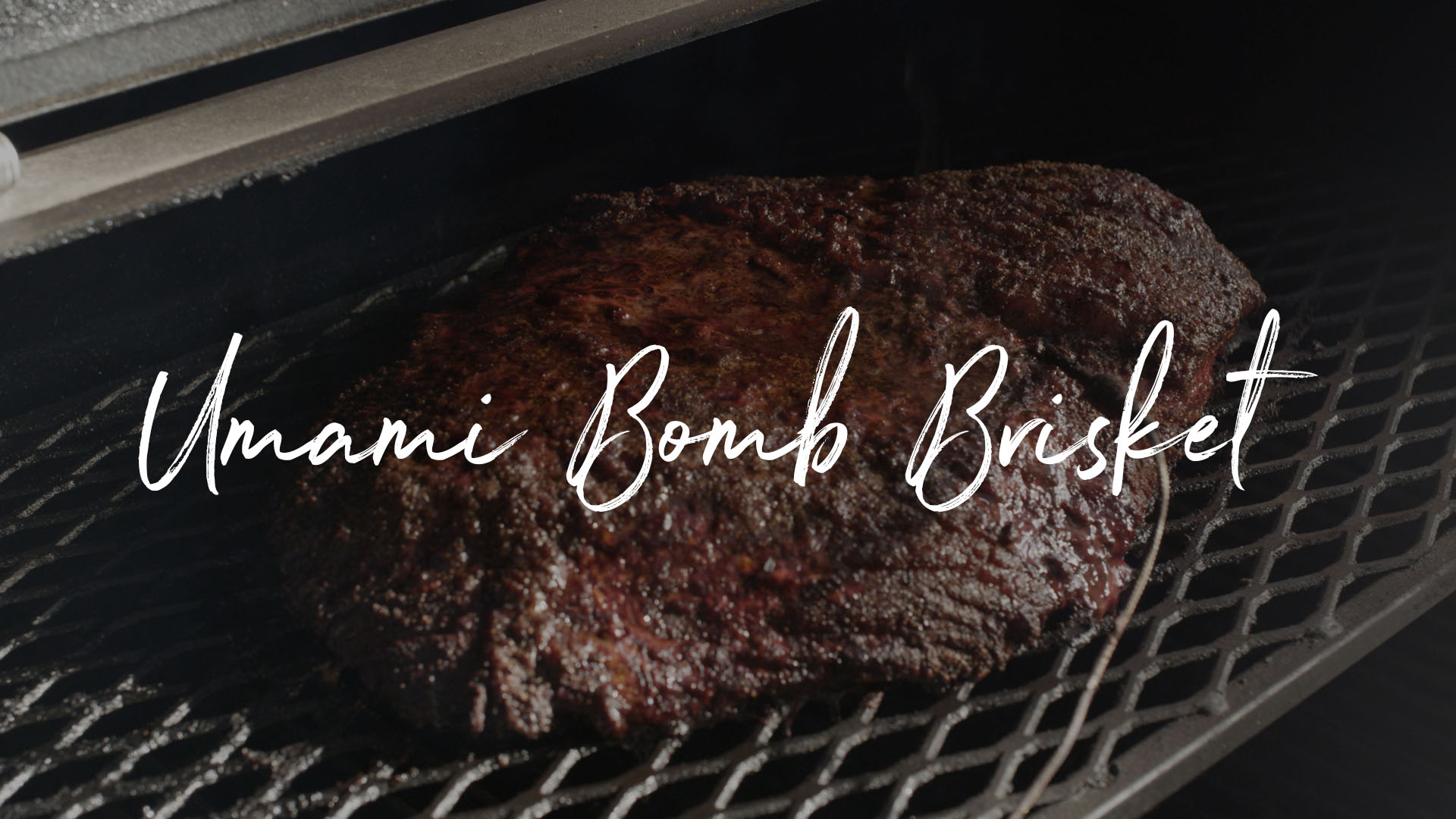 Umami Bomb Brisket | The Sauce by All