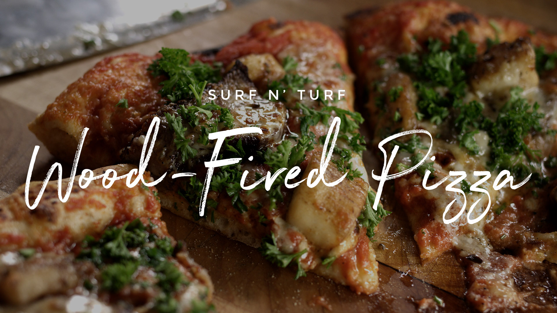 Surf n Turf Pizza Recipe