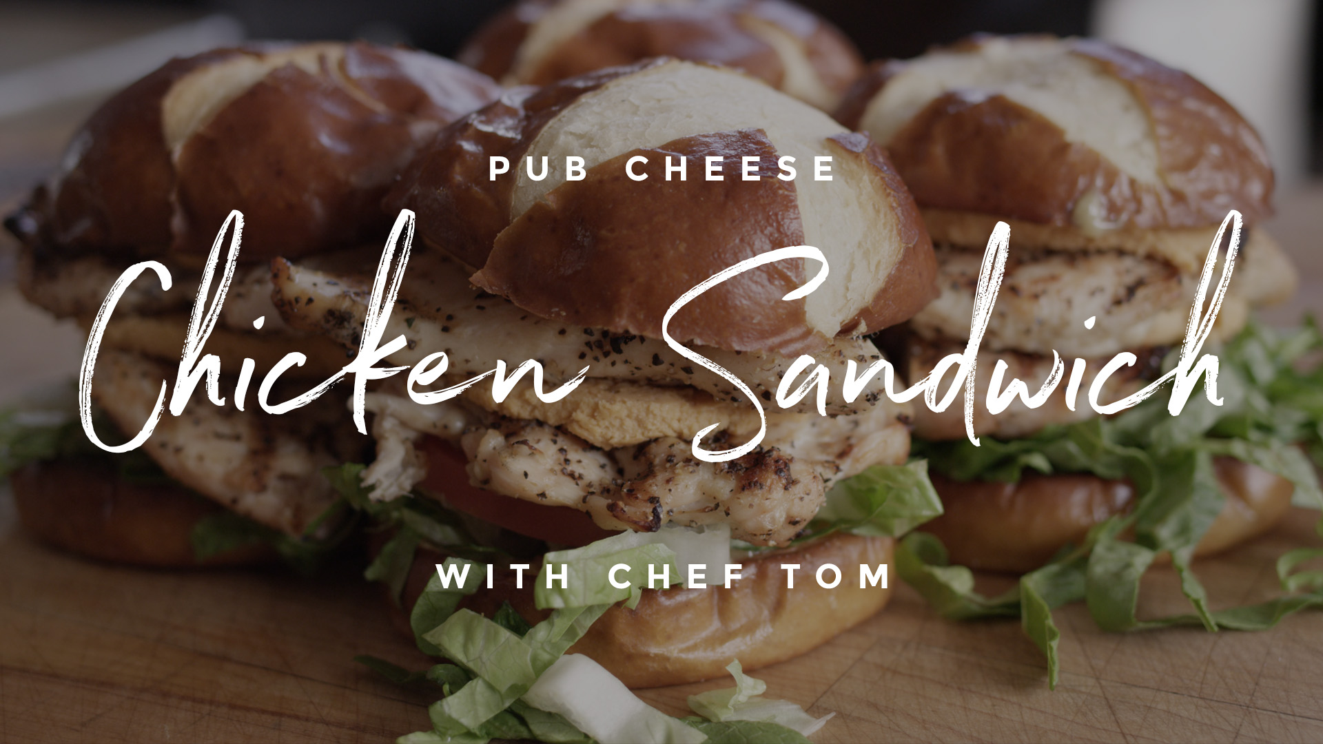 Pub Cheese Chicken Sandwich Recipe
