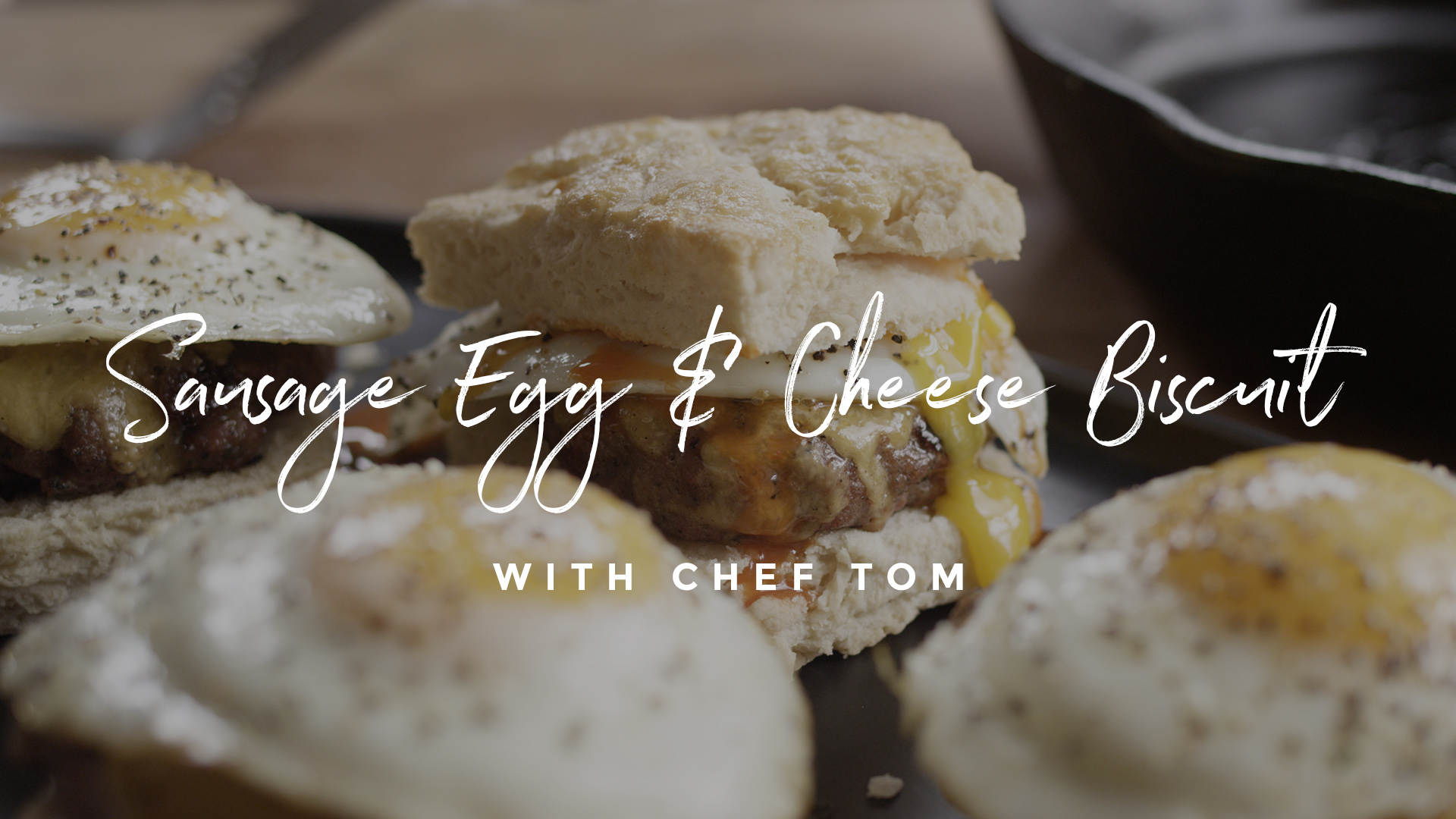 Sausage Egg & Cheese Biscuit Recipe