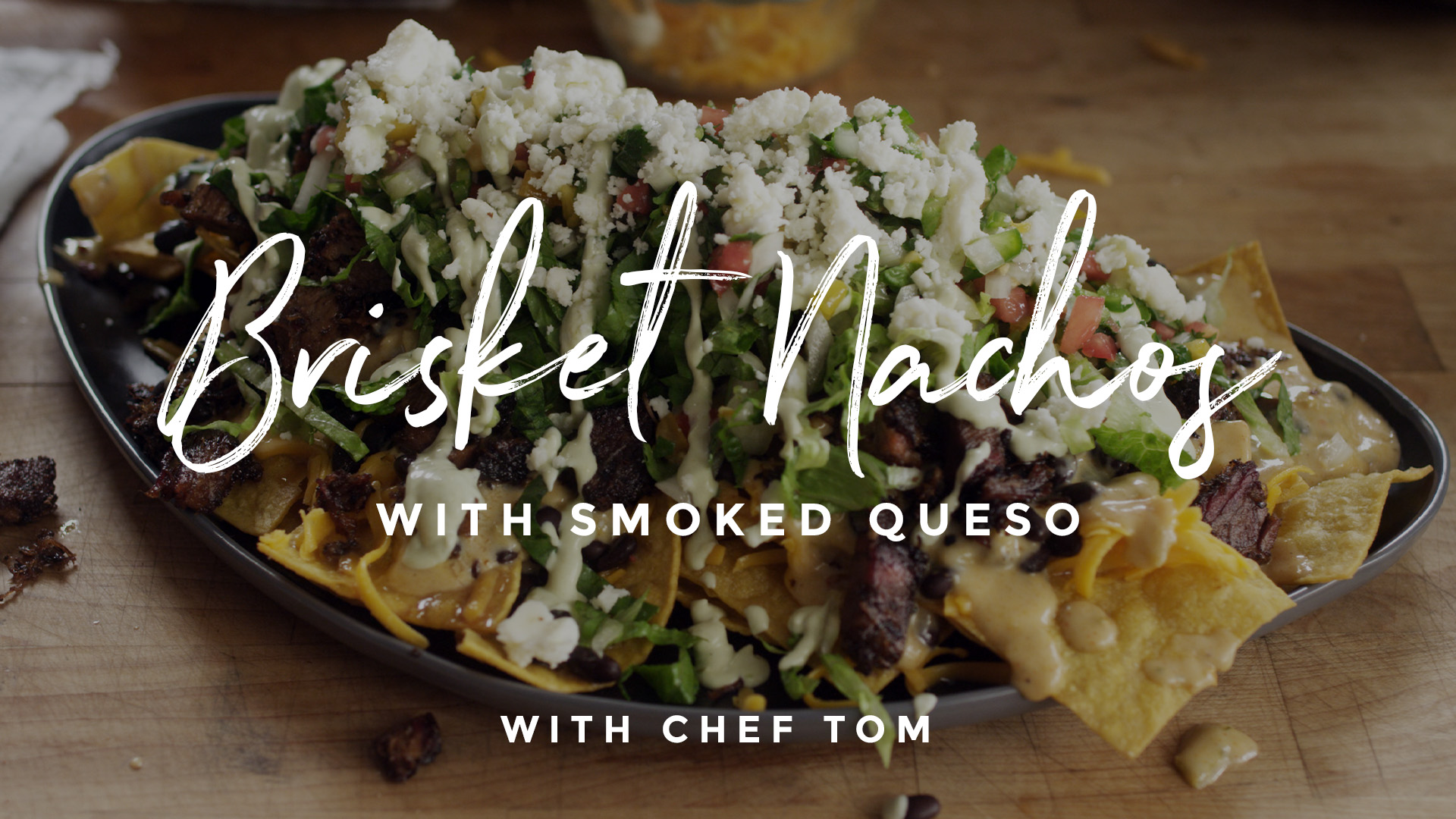 Brisket Nachos with Smoked Queso Recipe