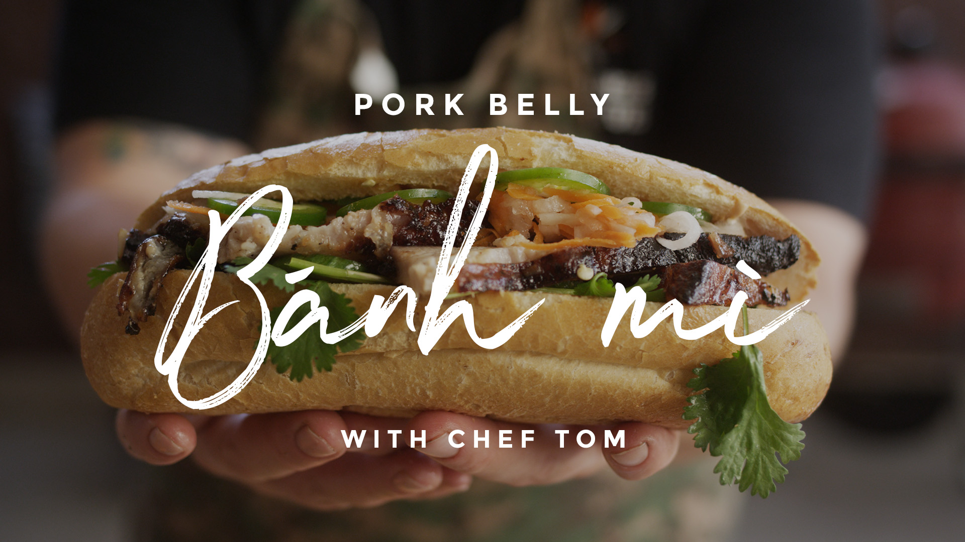 Pork Belly Banh Mi Recipe