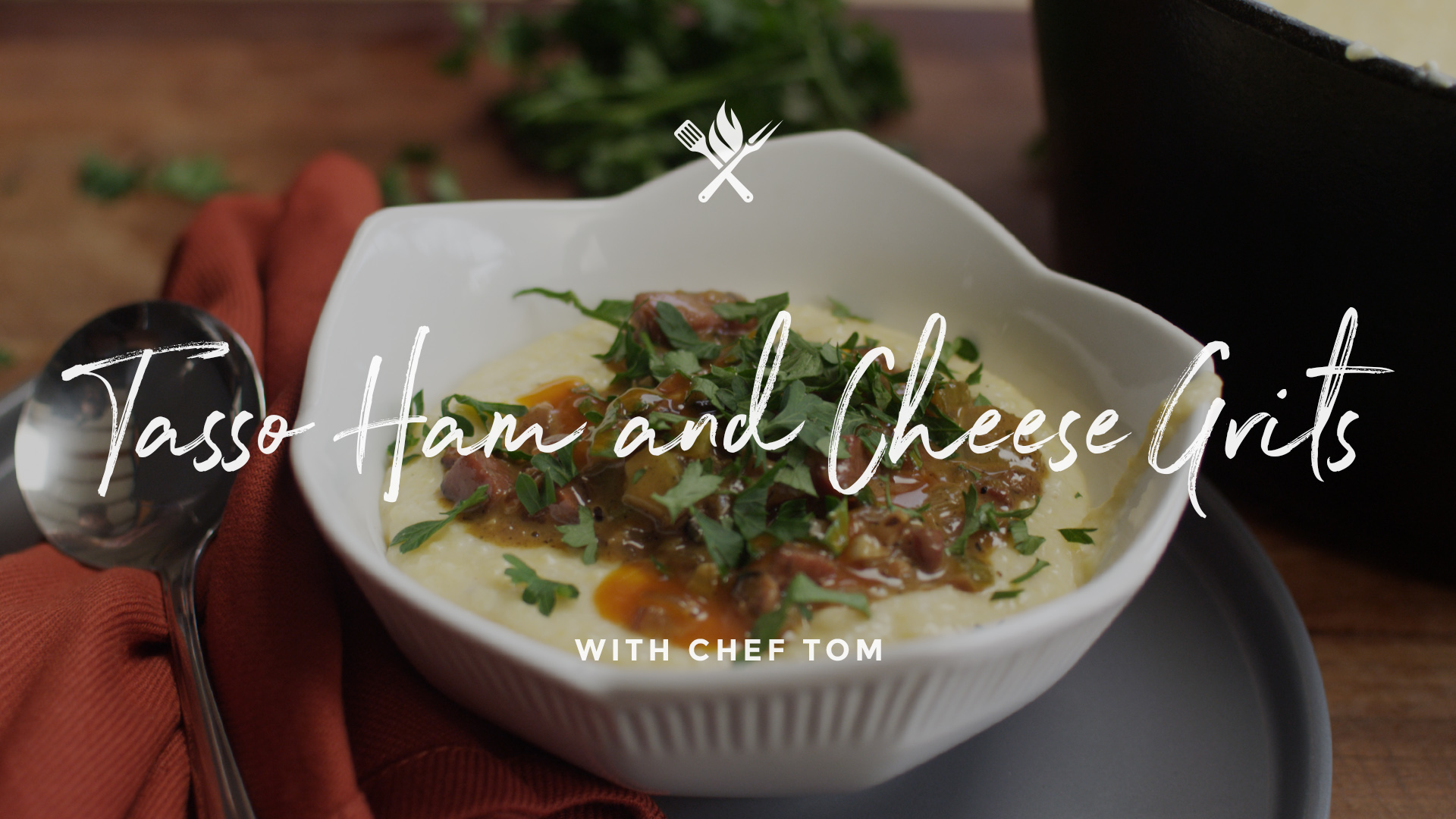 Tasso Ham & Cheese Grits Recipe